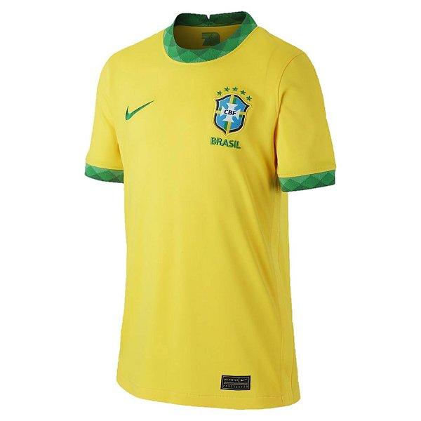 Camisa Brasil I 2020/21 – Masculina