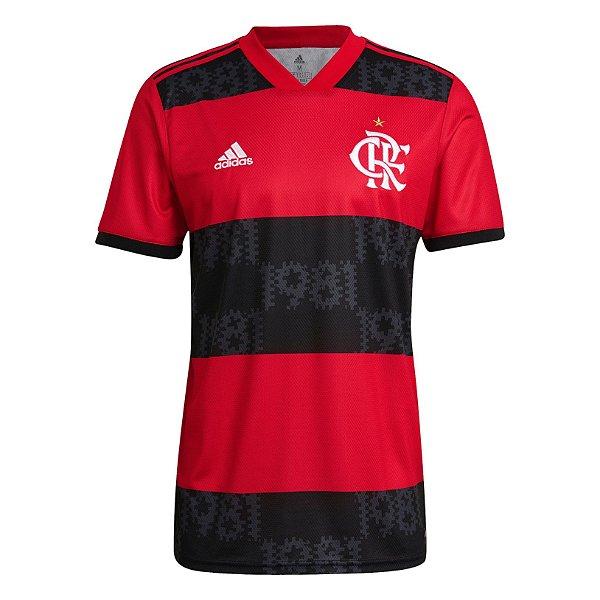 Camisa Flamengo I 2021/22 - Masculina