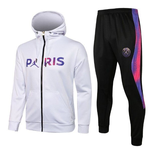 Tracksuit Paris Saint-Germain White 2021/22- Masculino