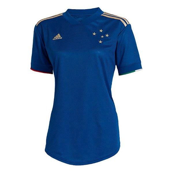 Camisa Cruzeiro I 2021/22 - Feminina