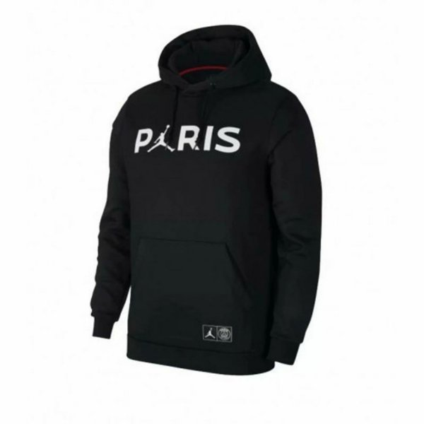 Moletom Paris Jordan Black 2018/19 - Masculino