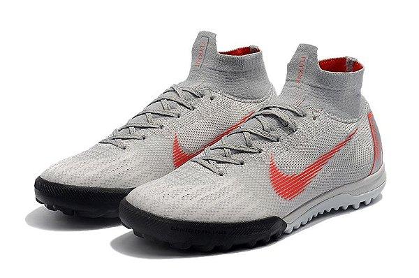29d4711720e78 Nike Mercurial Superfly Society - cinza - superfut