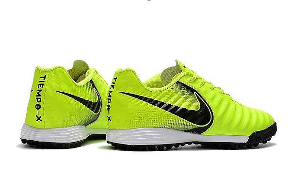 44abe9ac43493 Nike Tiempo Ligera Society - verde limão - superfut