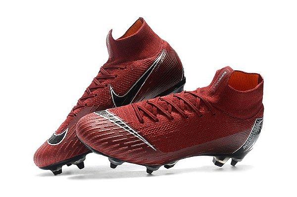 c207169acc Nike Mercurial Superfly - vermelha trava mista - superfut