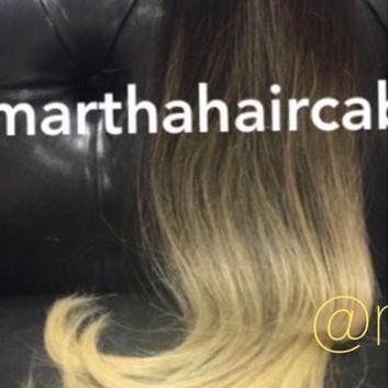Cabelo loiro Martha Hair nº 10/6, ombre hair, com ondas (kit com 25g)