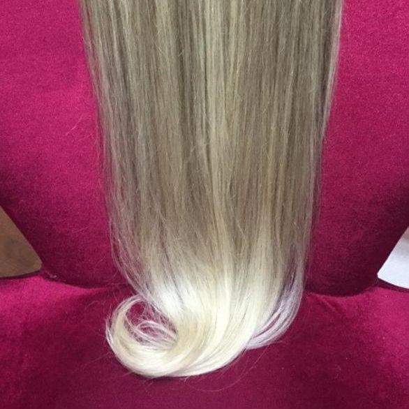 Cabelo loiro Martha Hair Nº 10.2, com coloração (kit com 25g)
