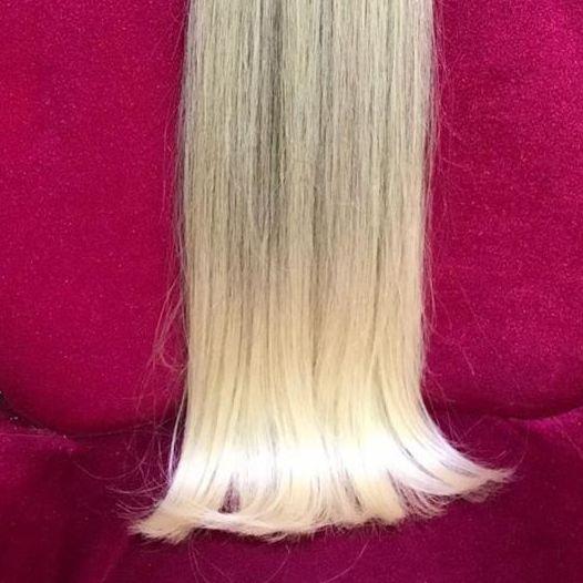 Cabelo loiro Martha Hair Nº 10.3, com coloração (kit com 25g)
