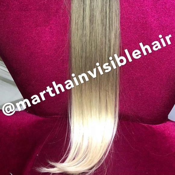 Cabelo loiro Martha Hair nº 10/7, com coloração (kit com 25g)
