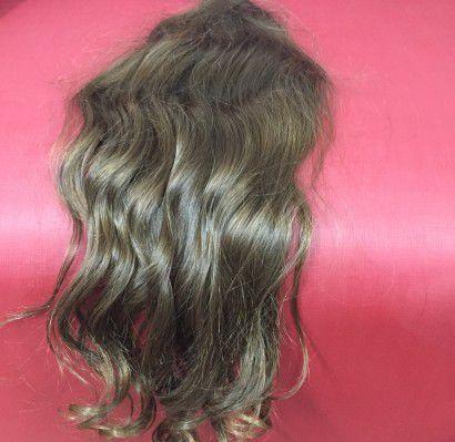 Cabelo loiro escuro Martha Hair nº 6, ondulado, natural, liso (kit com 25g)