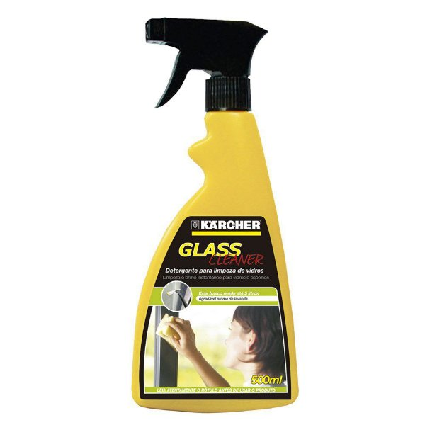 DETERGENTE GLASS CLEANER 500ML - C/ BORRIFADOR