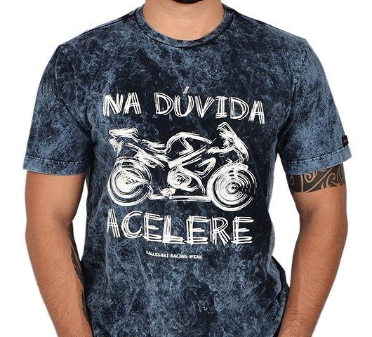 Camiseta Kallegari Na Duvida Acelere