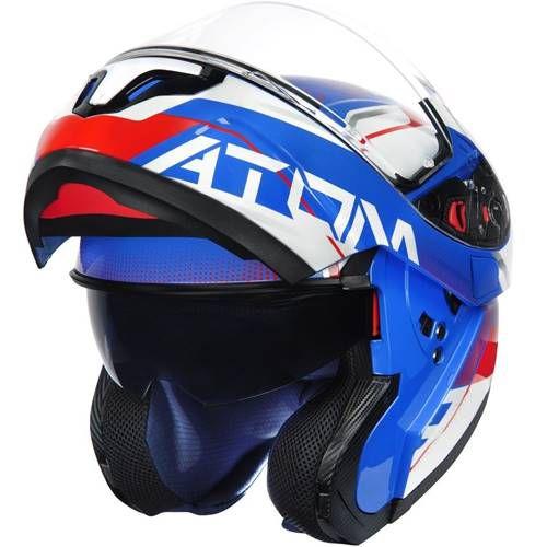 Capacete MT - ATOM (Tricolor)