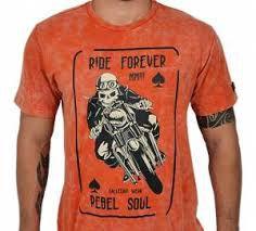 Camiseta Kallegari Masculina Rider Forever