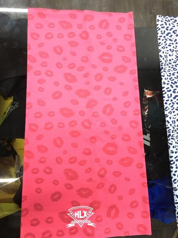 Tubo Flex (Colorido) - Rosa/Beijos