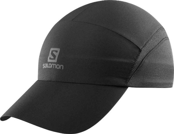 Boné Salomon XA Logo Preto