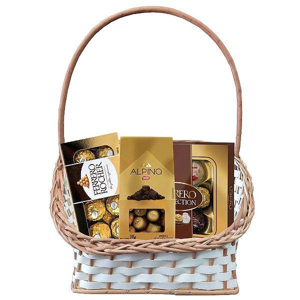 Cesta Chocolates Especiais