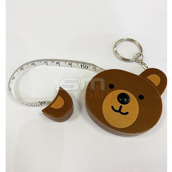 Fita Métrica Retrátil Urso 1,50 cm