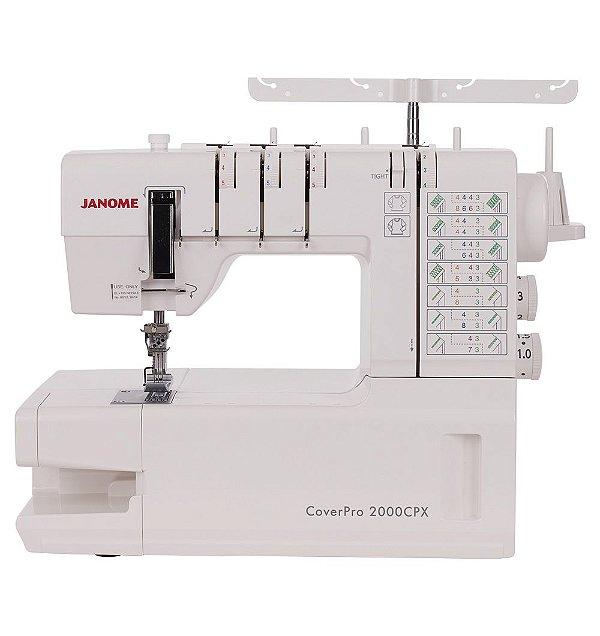 Máquina de Costura Galoneira Doméstica Janome 2000CPX