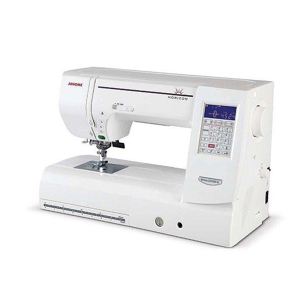 Máquina de Costura Janome 8200QDC para Quilt e Patchwork