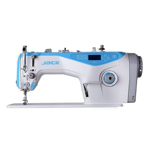 Máquina de Costura Reta Industrial Jack A4 Direct Drive com Kit Calcadores + Bobinas + Agulhas