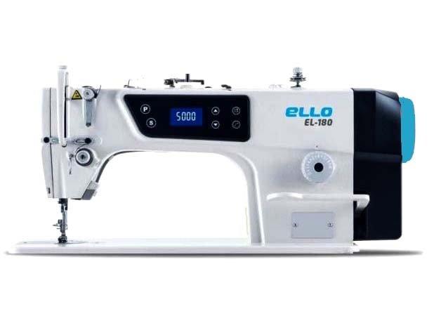 Máquina de Costura Reta Industrial Ello El-180 Direct Drive