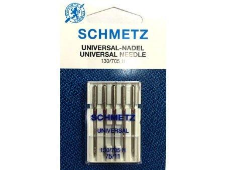 Agulha Schmetz Universal 75/11 para Máquinas de Bordado e Costura