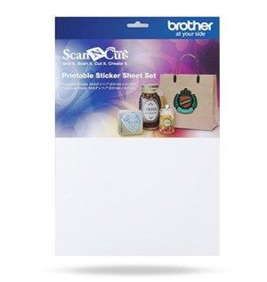 Folha Adesiva para Impressão para Máquina Scanncut (CAPSS1)