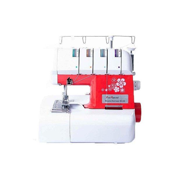 Máquina de Costura Overlock Doméstica Sun Special Ss-320 Sun Point