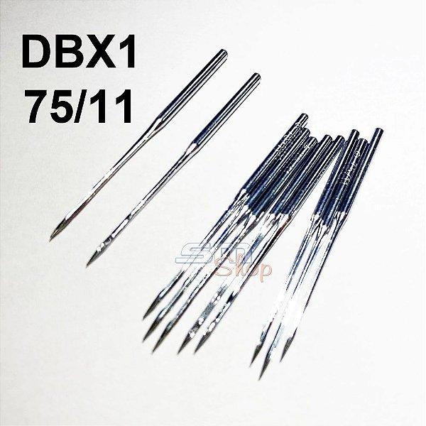 Agulha DBX1 75/11 para Máquinas de Costura e Bordado Industrial