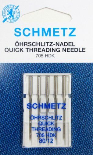 Agulha Schmetz Universal 80/12 para Máquinas de Bordado e Costura