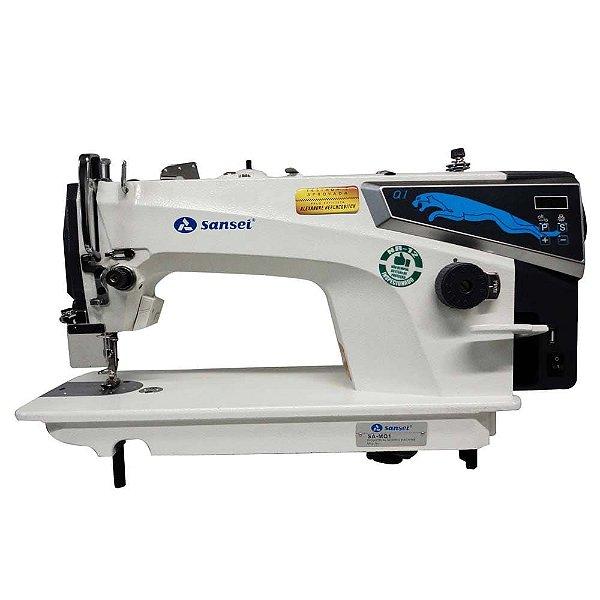 Máquina de Costura Reta Industrial Sansei SA-MQ1 Direct Drive