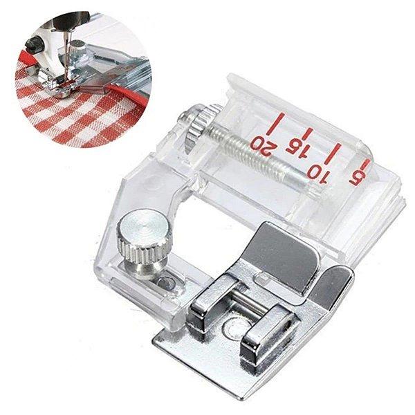 Calcador para Viés com Regulagem - MT161 Máquina Doméstica Brother, Janome e Elna