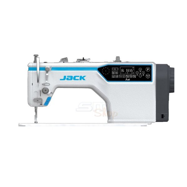 Lançamento Máquina de Costura Reta Industrial Jack A4E Direct Drive com Kit Calcadores + Bobinas + Agulhas