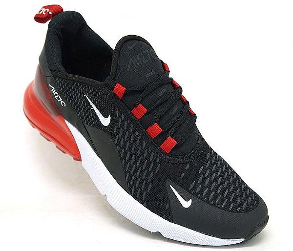 fe97d988dd4 Nike Air Max 270 - Preto e vermelho - Life City