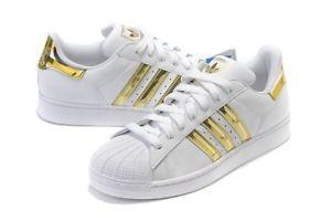 06e1335ac1a Adidas Superstar - Branco Dourado - Life City