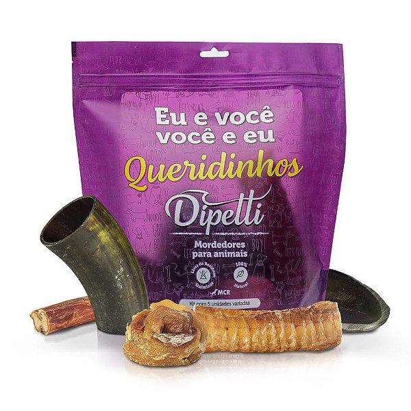Mordedor Queridinhos - Chifre, casco, traqueia, empadinha e vergalho Dipetti