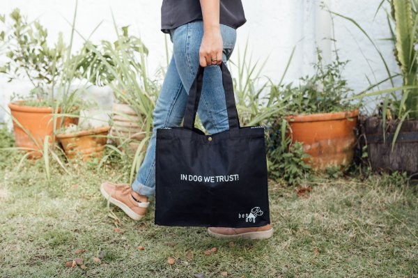 EcoBag - IN DOG WE TRUST