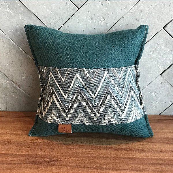 Mini Travesseiro Verde Escuro