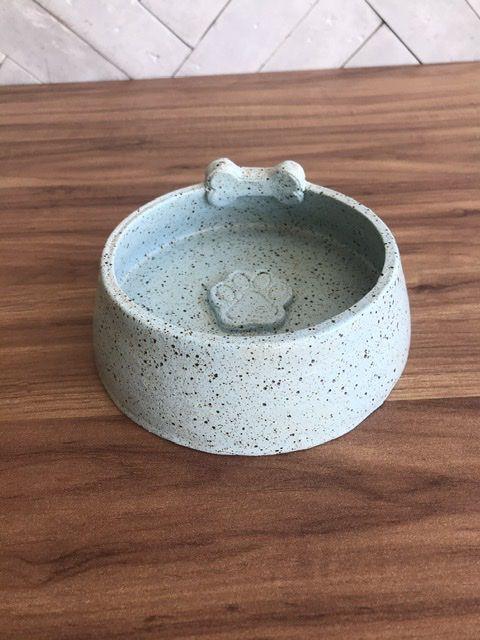 Comedouro para Cachorro em Cerâmica
