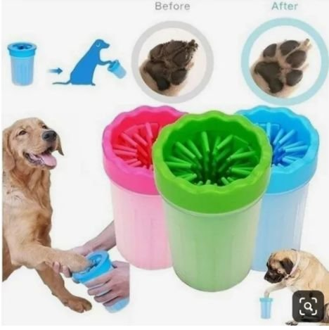 Copo Limpa Patinhas para Cachorro e Gato