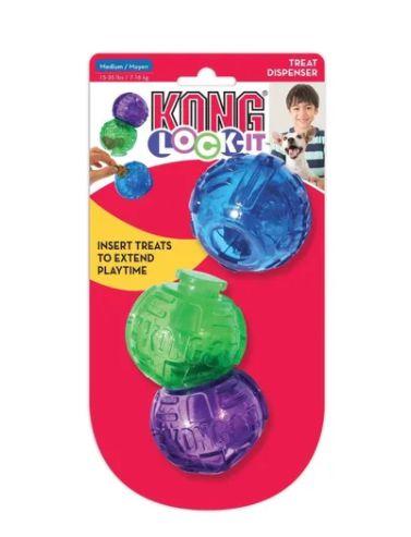 Brinquedo Recheável Lego - Kong Lock It para Cachorro