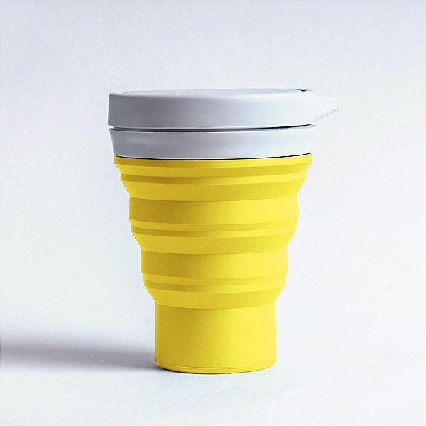 Copo Menos1Lixo - Amarelo