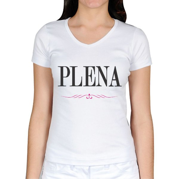 Camiseta Feminina Plena