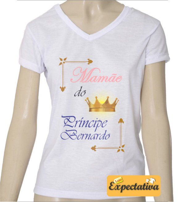 Camiseta Personalizada de Aniversário Coroa - 02