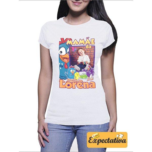 Camiseta Personalizada de Aniversário Galinha Pintadinha - 01