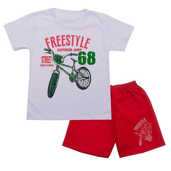 Conjunto Infantil Freestyle Branco