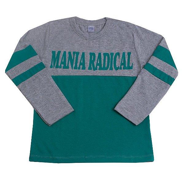 Camisa Manga Longa Mania Radical Verde