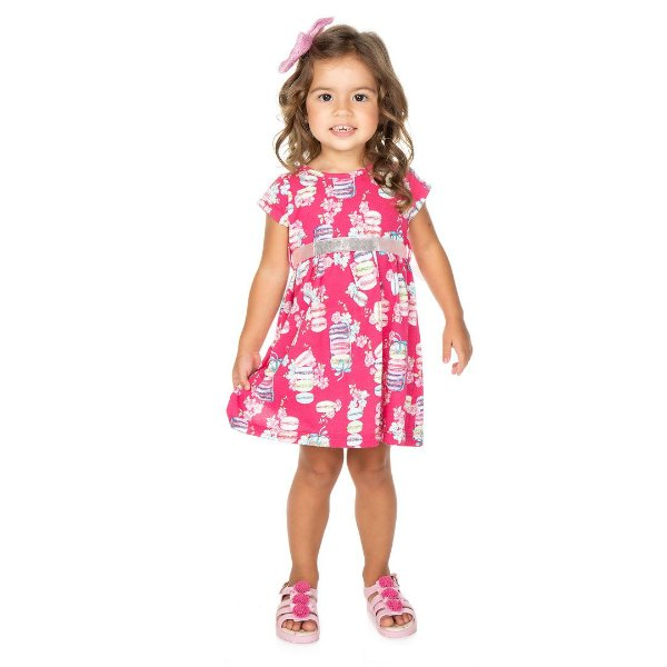 Vestido Macarons Pink