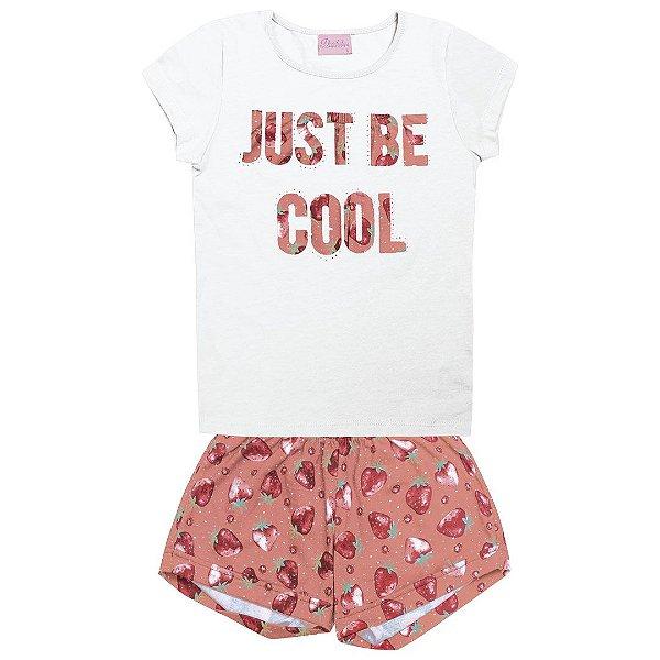 Conjunto Just Be Cool Branco
