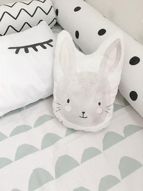 Almofadinha Bunny aquarela